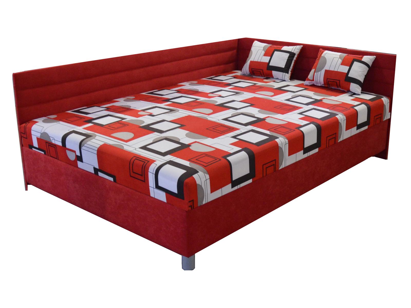 Jednolôžková posteľ 110 cm - BRW - Elize (s roštom a matracom) (P)