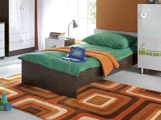 Jednolôžková posteľ 90 cm - BRW - RINGO - LOZ/90