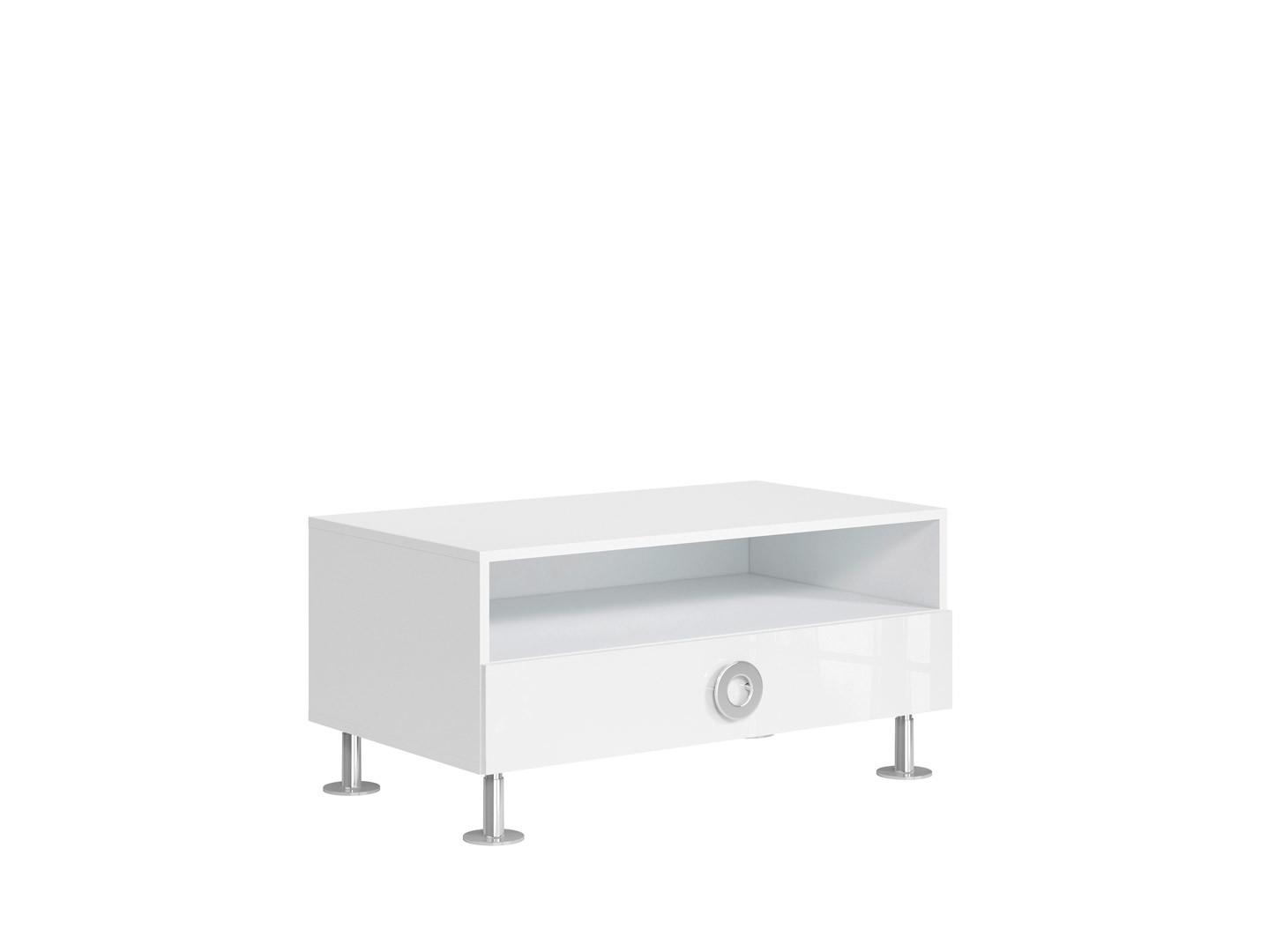 TV stolík/skrinka - BRW - Ringo - RTV1S/10/5. Sme autorizovaný predajca Black Red White. Vlastná spoľahlivá doprava až k Vám domov.