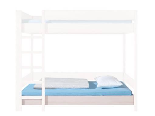 Jednolôžková posteľ 90 cm - BRW - Rupi - LOZ/80/PIETRO/DOL (s matracom a roštom)