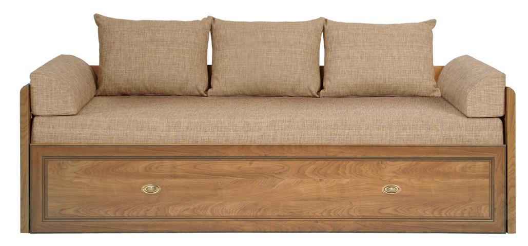 Rozkladacia posteľ 80 až 160 cm - BRW - SEVILLA - lôžko 80_160