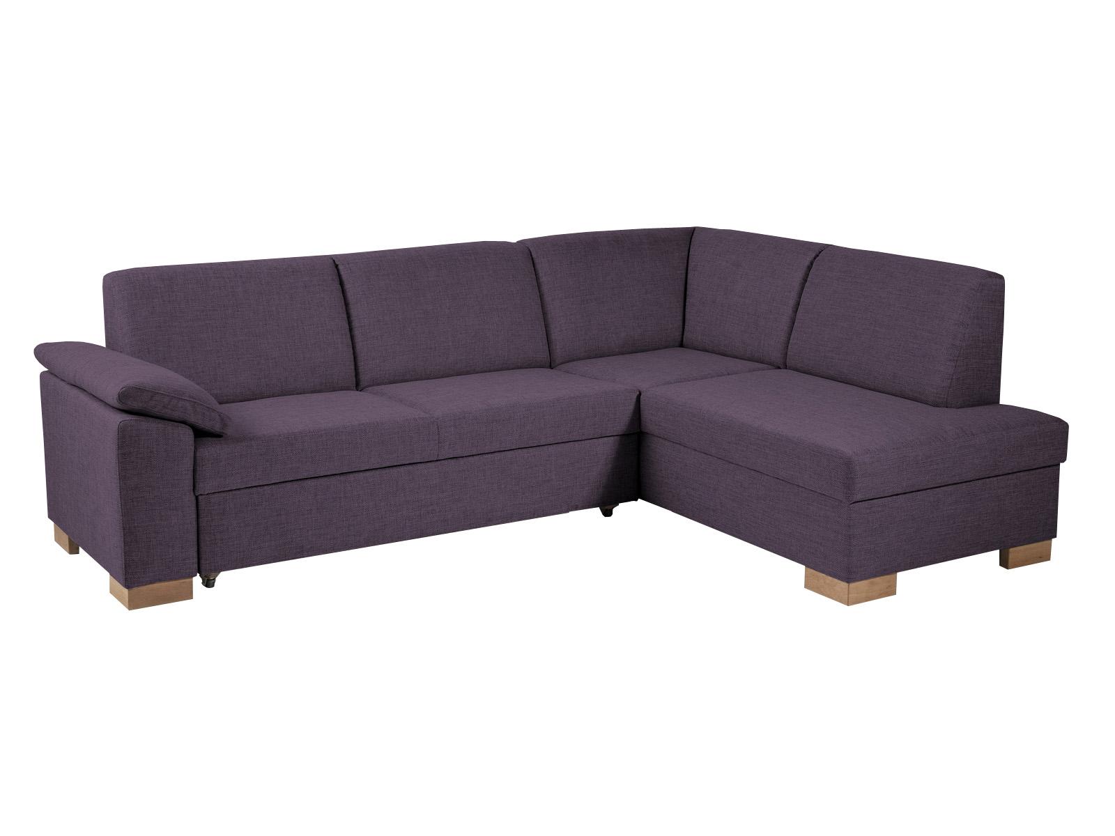 Rohová sedačka - BRW - Malaga Lux 2,5F+OT fialová (P)