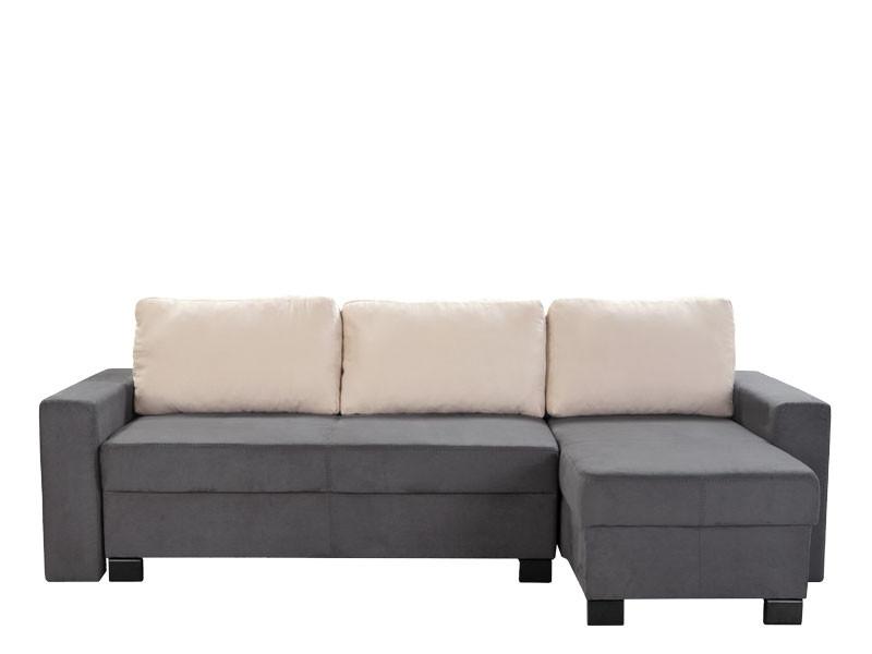 Rohová sedačka - BRW - Smile 3DL.URC šedá (P)