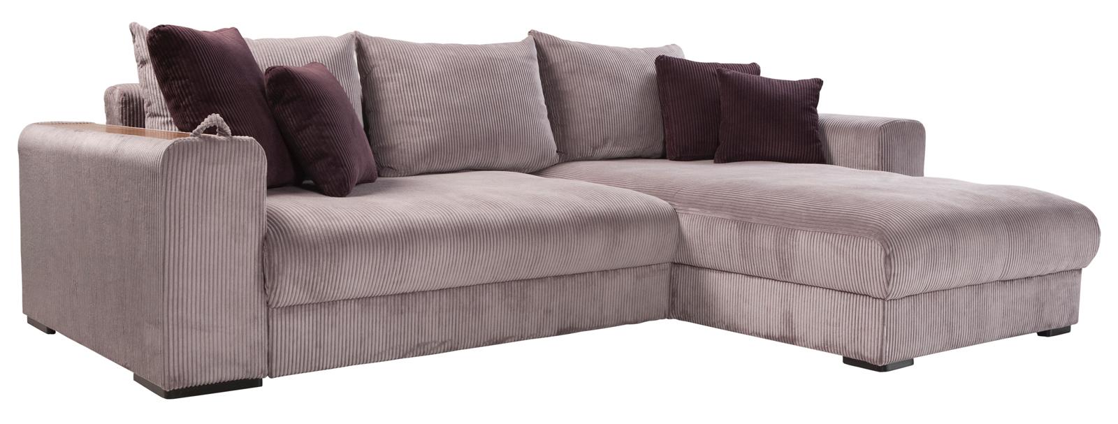 Rohová sedačka - BRW - Peter Mega Lux 3DL.URCBK šedá (P)