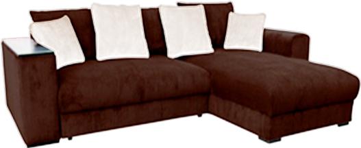 Rohová sedačka - BRW - Peter Mega Lux 3DL.URCBK hnedá (P)
