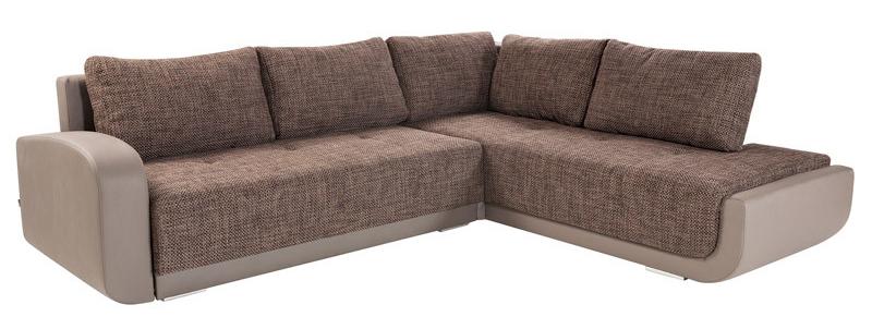 Rohová sedačka - BRW - Swing Lux 3DL.REC hnedá (P)