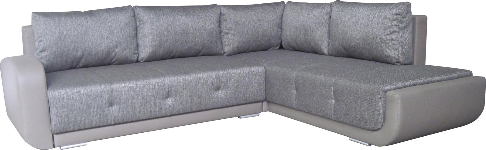Rohová sedačka - BRW - Swing Lux 3DL.REC šedá (P)