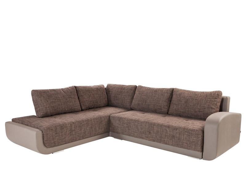 Rohová sedačka - BRW - Swing Lux REC.3DL hnedá (L)