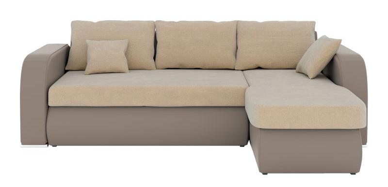 Rohová sedačka - BRW - Cubo 2F.URCBK hnedá (P)