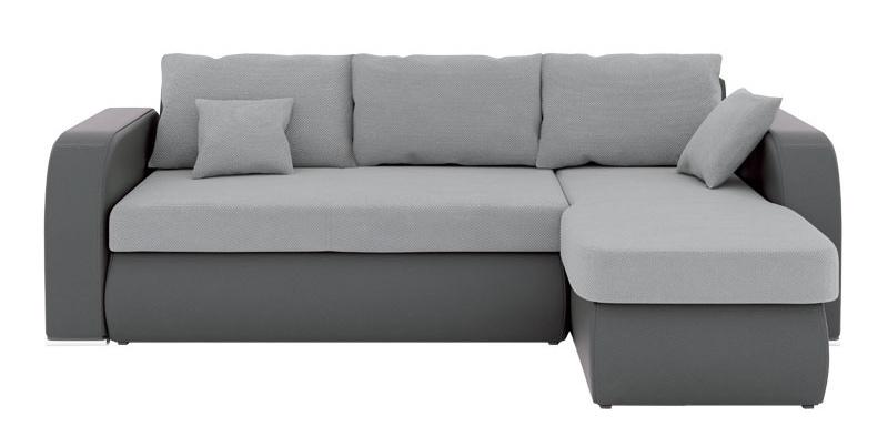 Rohová sedačka - BRW - Cubo 2F.URCBK šedá (P)