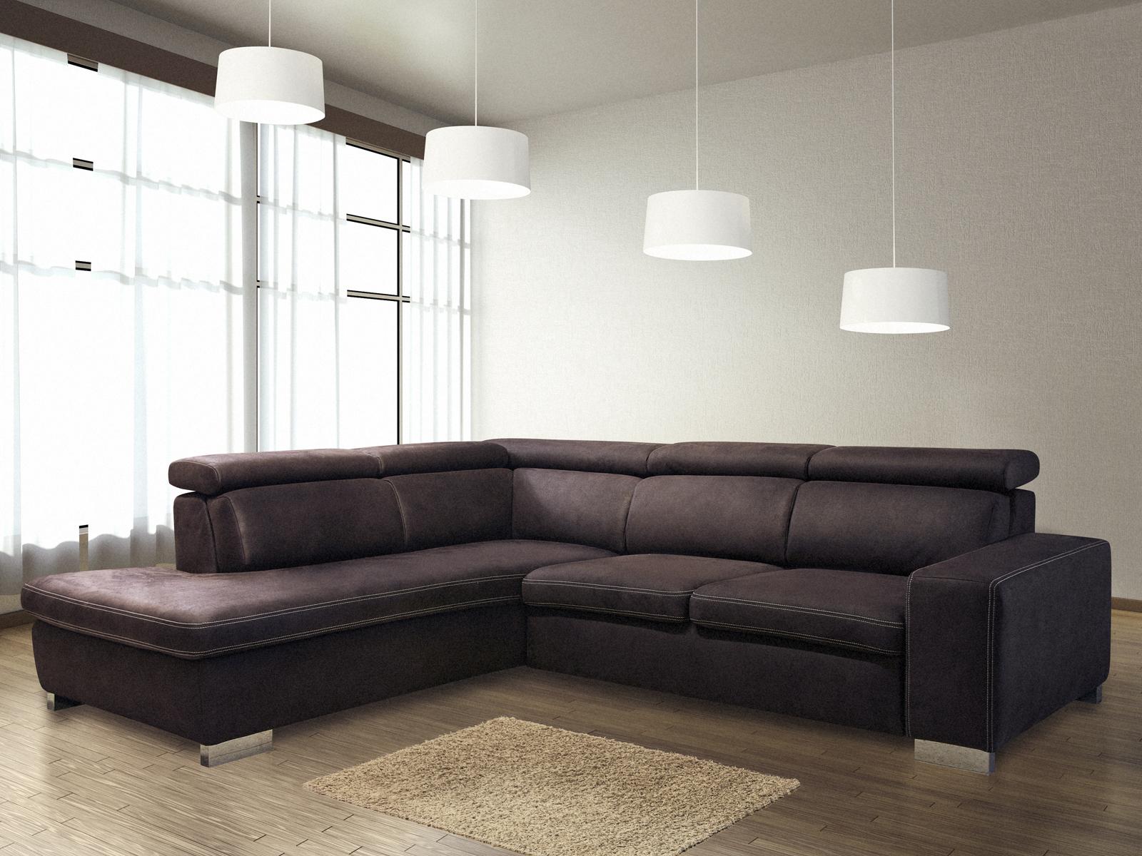 Rohová sedačka - BRW - Mondo 2 UBE (L)