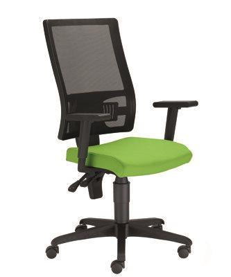 Kancelárska stolička - BRW - Taktik Mesh Ergon TS + GTP42BL zelená