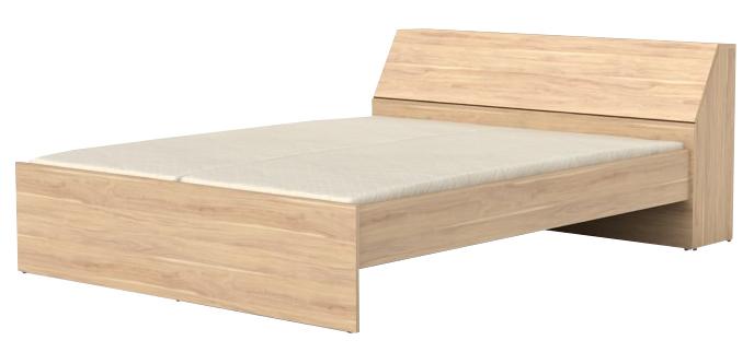 Manželská posteľ 160 cm - BRW - Synthia - LOZ/160