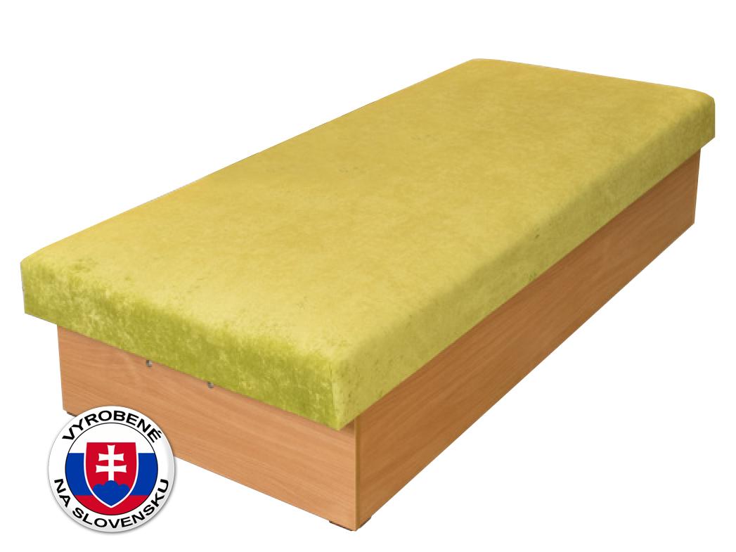 Jednolôžková posteľ 80 cm - Benab - Roger Extra (+ matrac)