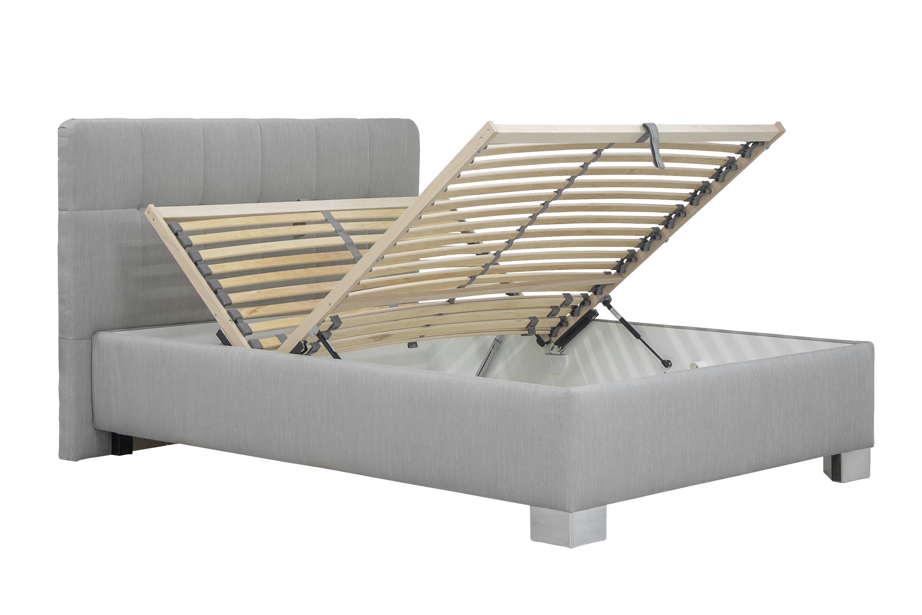 cc71ee8e843b1 Jednolôžková posteľ 120 cm Blanár Kelly (sivá Bravo 11) (s roštom ...