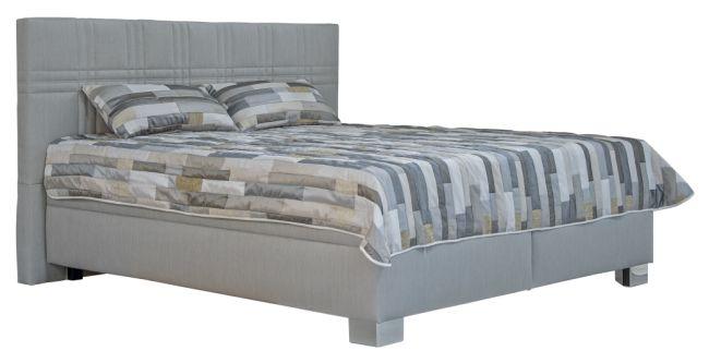 Manželská posteľ 160 cm - Blanár - Venus (sivá) (s roštami a matracmi Ivana Plus). Akcia -25%. Doprava ZDARMA. Sme autorizovaný predajca Blanár. Vlastná spoľahlivá doprava až k Vám domov.