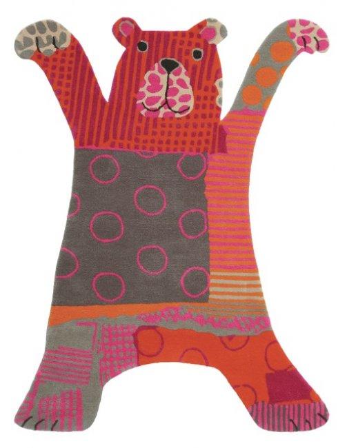Ručne všívaný koberec - Brink and Campman - Kids bear 41000