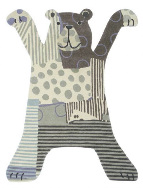 Ručne všívaný koberec - Brink and Campman - Kids bear 41001