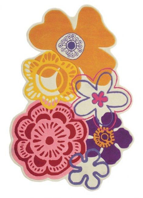Ručne všívaný koberec - Brink and Campman - Kids fleur 41203