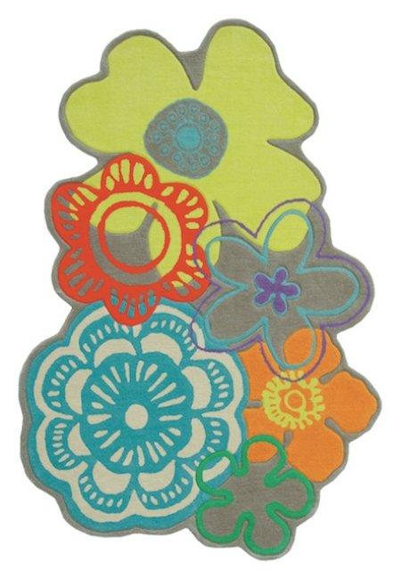 Ručne všívaný koberec - Brink and Campman - Kids fleur 41207