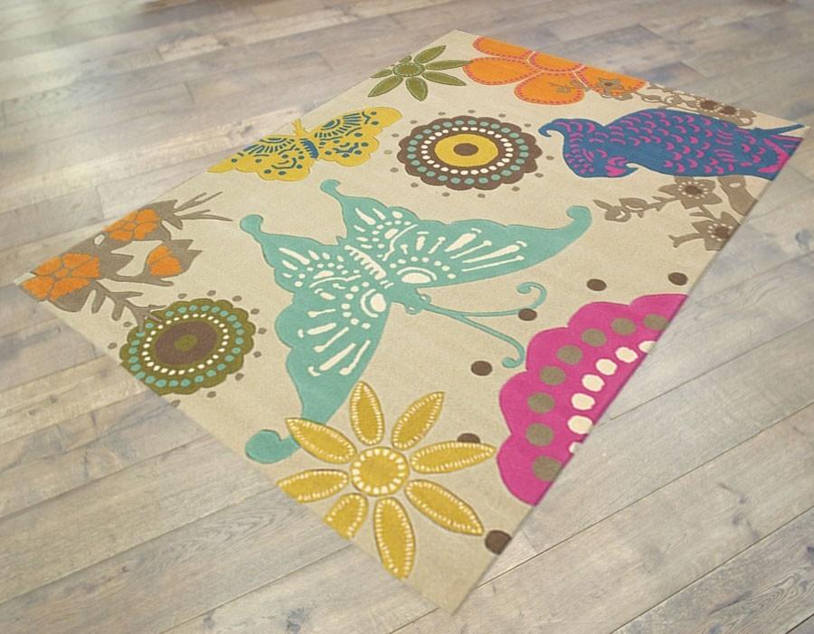 Ručne všívaný koberec  Brink and Campman  Xian butterfly