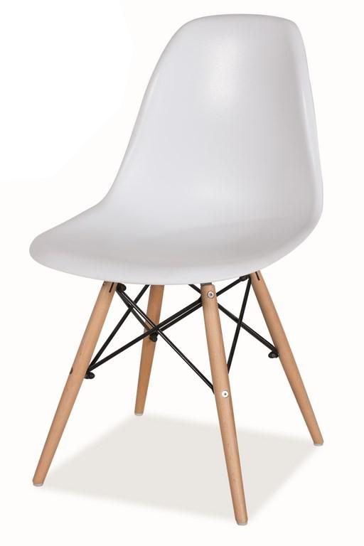 b51ab91153b4 Jedálenská stolička Enzo biela MOB-4151