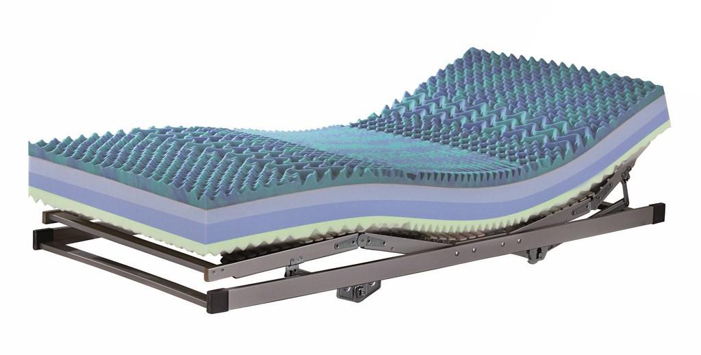 Penový matrac - Casarredo - Cool II - 200x80 cm - MOB-4431. Anatomický matrac s vrstvou zo studenej peny s vysokou pružnosťou, životnosťou a priedušnosťou, pre lepšie uvoľnenie svalstva, so zvýšenou nosnosťou a prateľným poťahom.