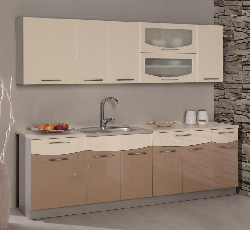 Kuchyňa - Casarredo - Smile 240 cm (cappuccino + jasmín) - Casa-019