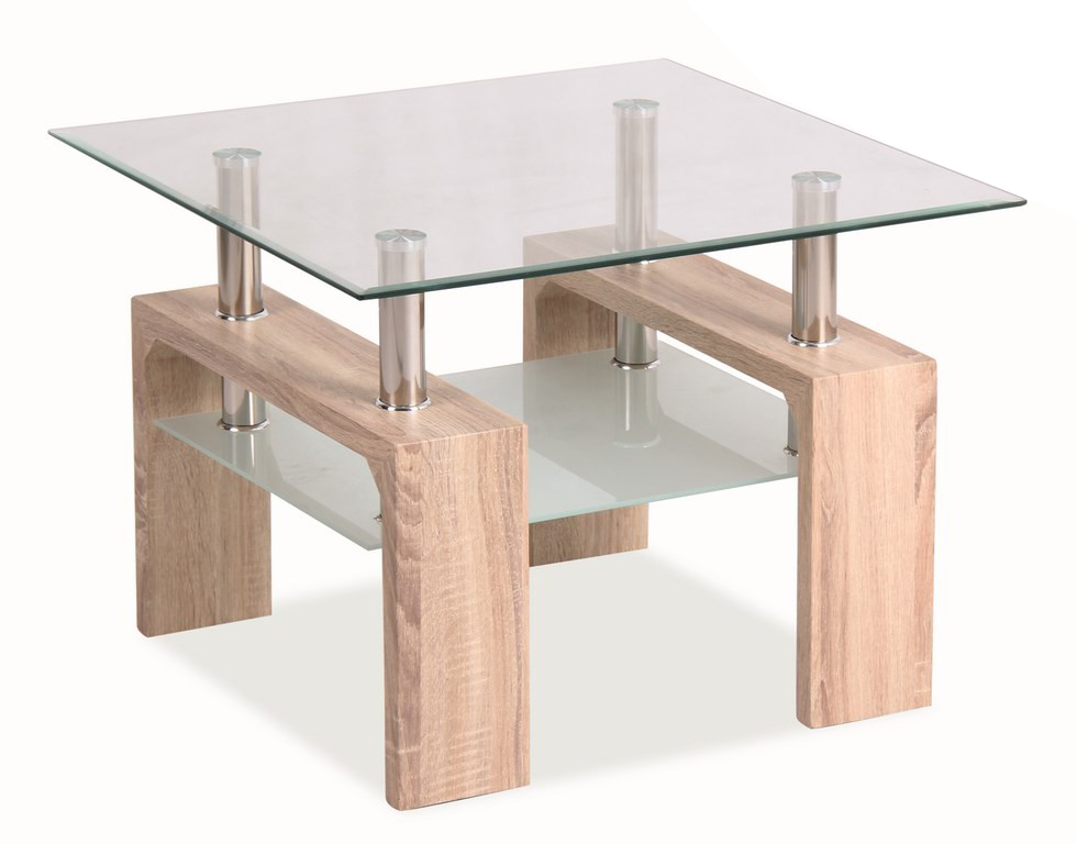 Konferenčný stolík - Casarredo - LISA D BASIC Dub Sonoma - MOB-4185. Sme autorizovaný predajca Casarredo. Vlastná spoľahlivá doprava až k Vám domov.