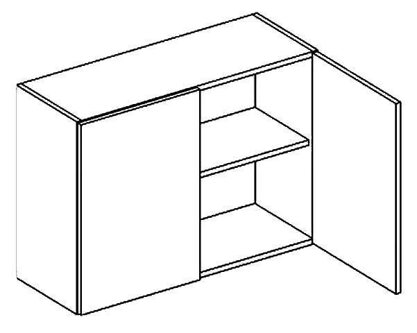 Horná kuchynská skrinka - Casarredo - Moreno - W80