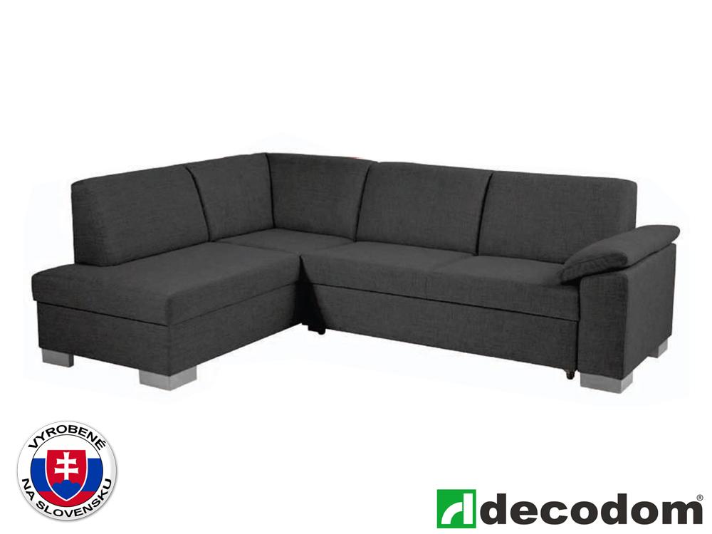 Rohová sedačka - Decodom - Malaga Lux antracit (L)