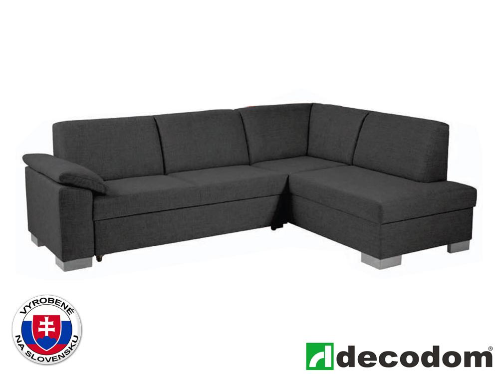 Rohová sedačka - Decodom - Malaga Lux antracit (P)