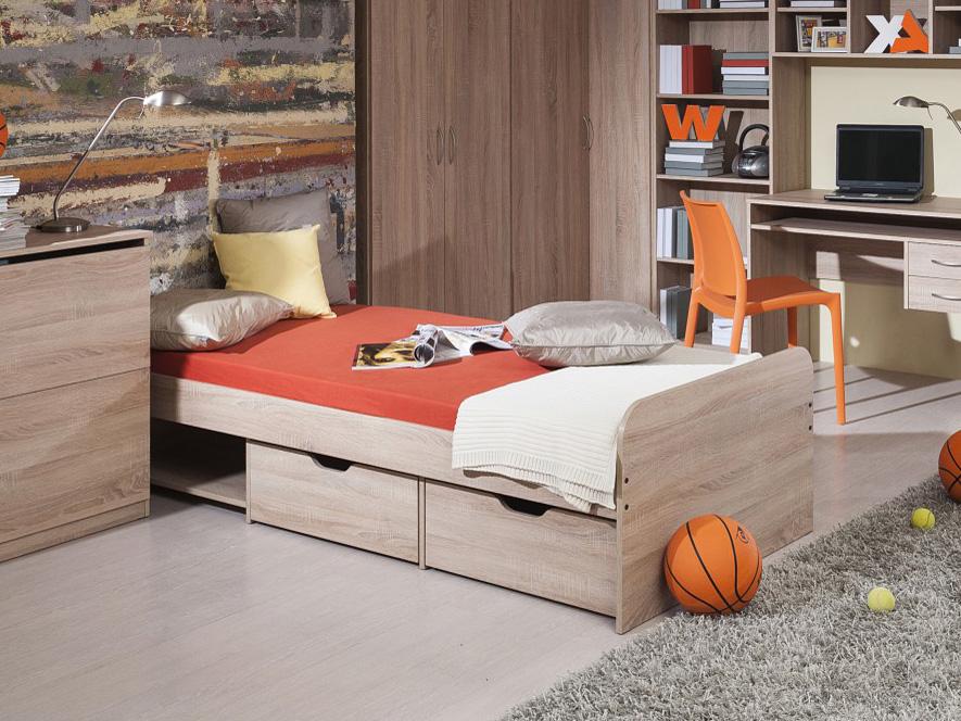 Jednolôžková posteľ 90 cm - Decodom - Rio