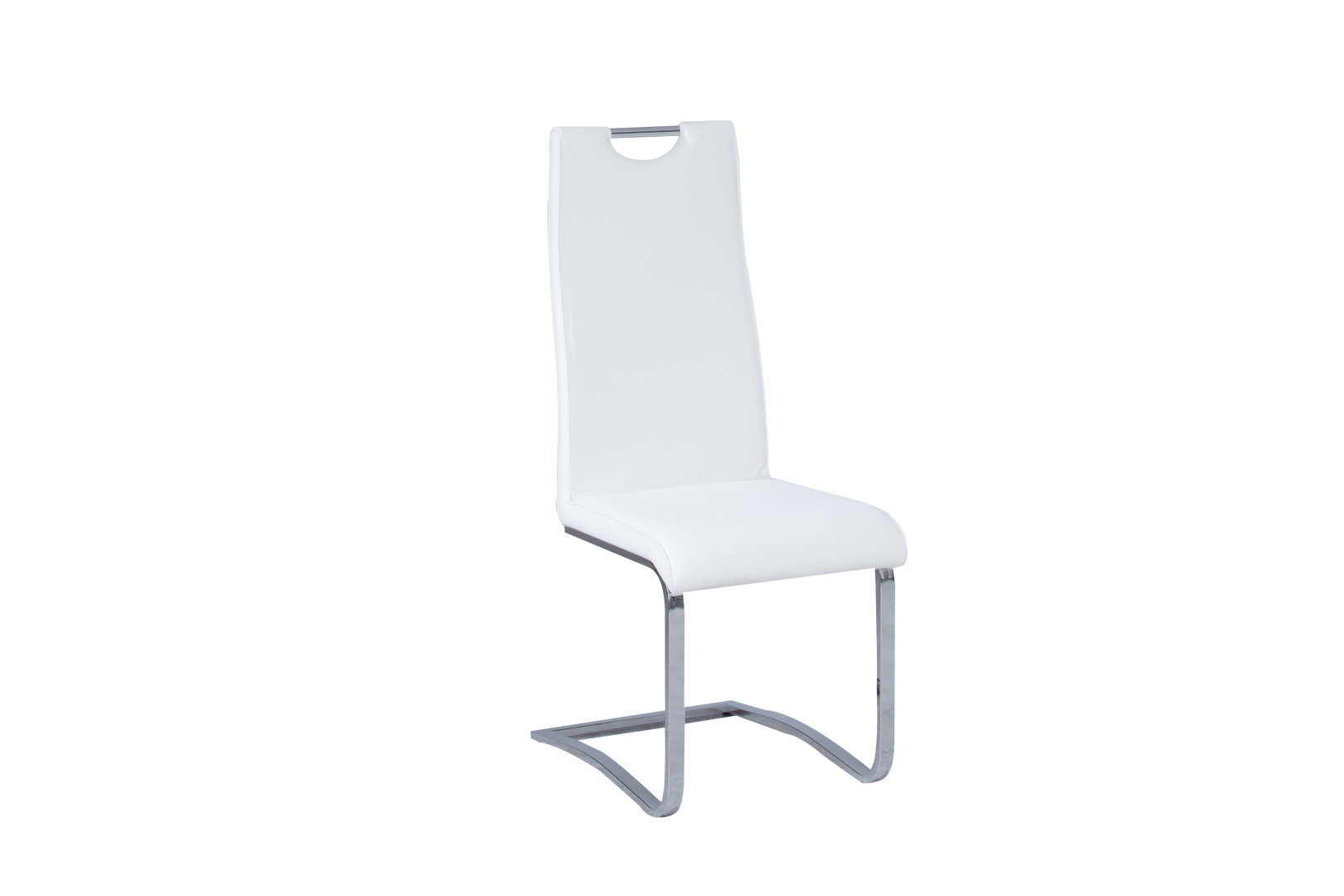faad03163417 Jedálenská stolička - Decodom - Eugen (biela koženka)