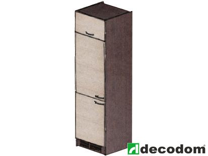 Skriňa pre vstavanú chladničku - Decodom - Nela - CH 60