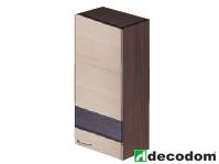 Horná kuchynská skrinka - Decodom - Nela - H 50 ZVV (s osvetlením). Sme autorizovaný predajca Decodom. Vlastná spoľahlivá doprava až k Vám domov.