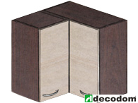 Horná kuchynská skrinka, rohová - Decodom - Nela - H 60 RM
