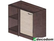 Dolná kuchynská skrinka, rohová - Decodom - Nela - S 110 R