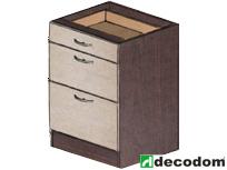 Dolná kuchynská skrinka - Decodom - Nela - S 60 3Z. Sme autorizovaný predajca Decodom. Vlastná spoľahlivá doprava až k Vám domov.