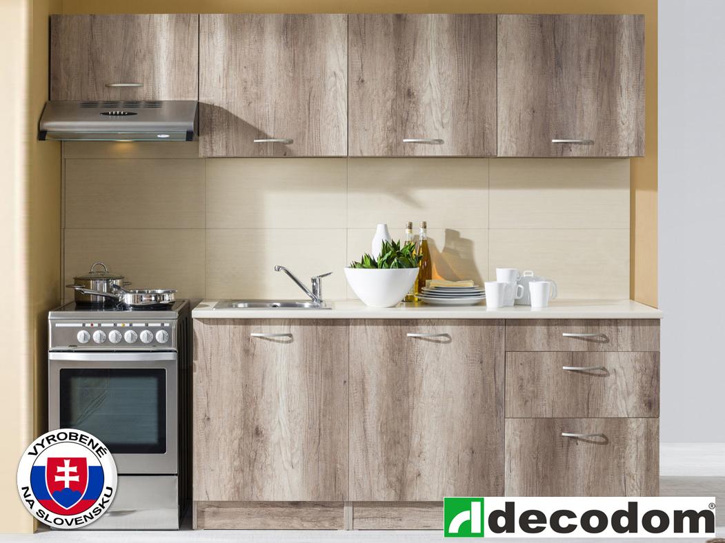 Kuchyňa - Decodom - Nela 240 cm dub canyon