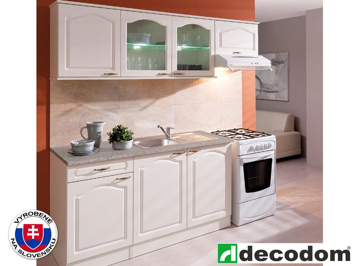 Kuchyňa - Decodom - Jula 210 cm vanilka + magnólia