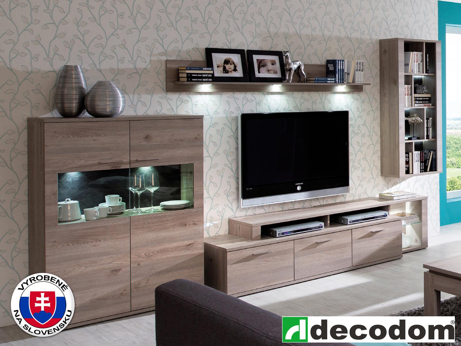 Obývacia stena - Decodom - Henry - K51B dub nelson