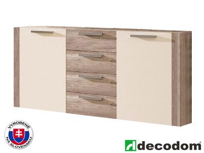 Komoda - Decodom - Alex - Typ 01 dub canyon + piesok
