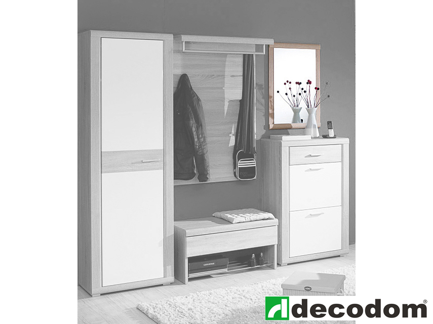 Zrkadlo - Decodom - Berlingo dub pílený bardolino