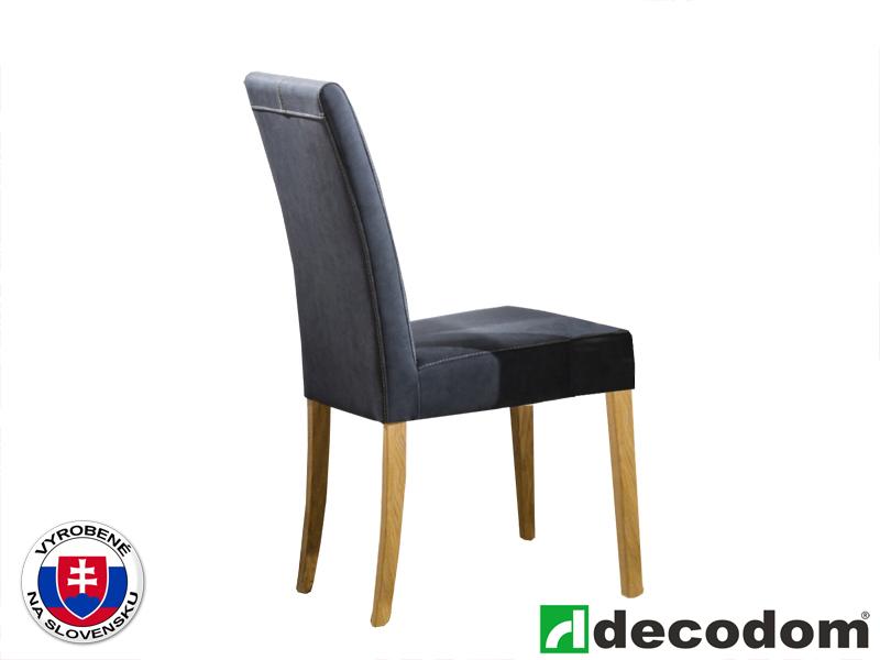 Jedálenská stolička - Decodom - Silvia dub olejovaný + sir valente
