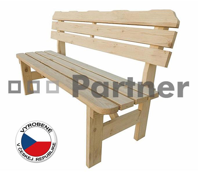 Záhradná lavička - Deokork - Borovica masív 02. Akcia -36%. Sme autorizovaný predajca Deokork. Vlastná spoľahlivá doprava až k Vám domov.