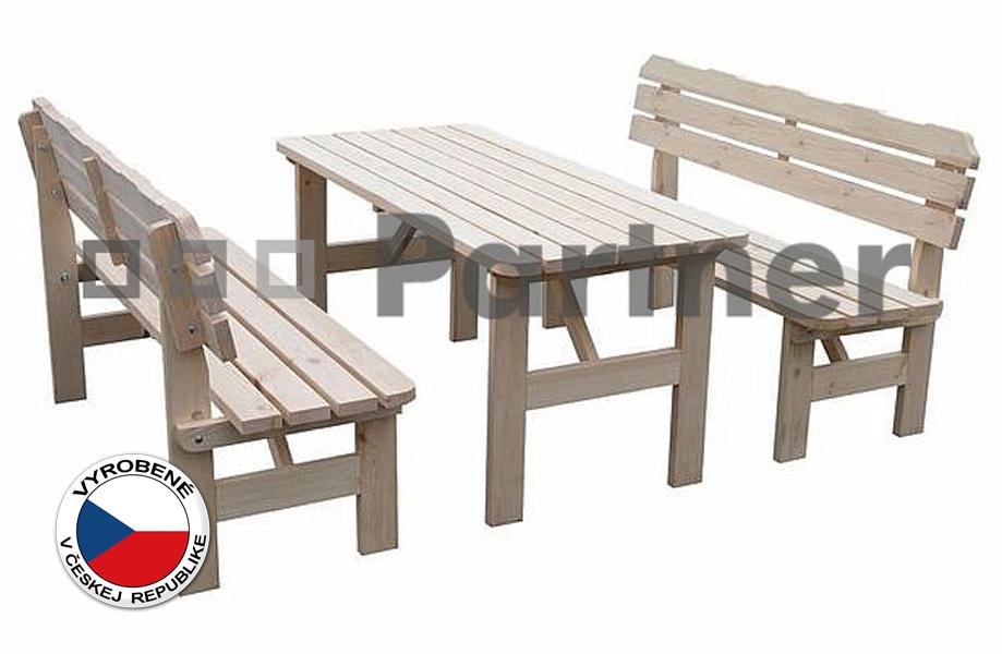 Záhradný nábytok - Deokork - Borovica masív 1+2 - 02. Akcia -13%. Sme autorizovaný predajca Deokork. Vlastná spoľahlivá doprava až k Vám domov.