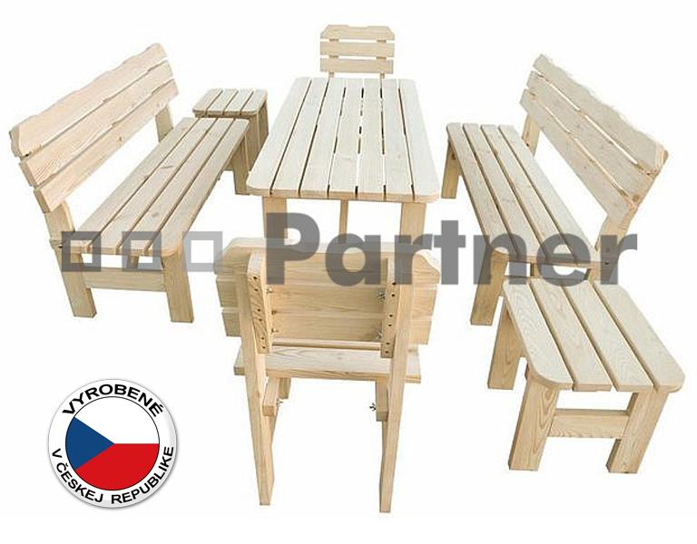 Záhradný nábytok - Deokork - Borovica masív 1+6 - 02. Akcia -6%. Sme autorizovaný predajca Deokork. Vlastná spoľahlivá doprava až k Vám domov.