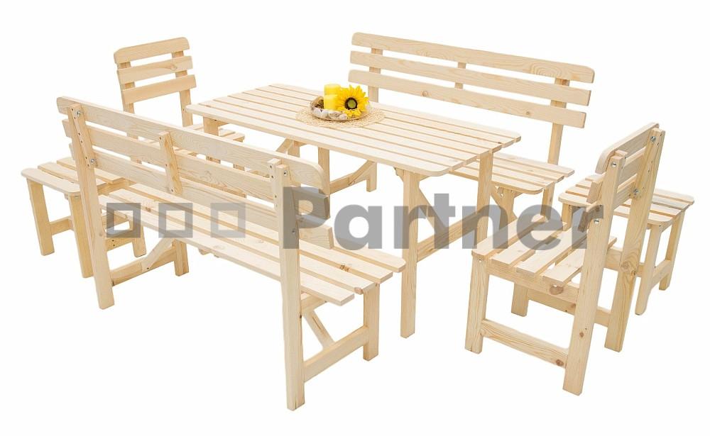 Záhradný nábytok - Deokork - Borovica masív 1+6 - 01. Akcia -12%. Sme autorizovaný predajca Deokork. Vlastná spoľahlivá doprava až k Vám domov.