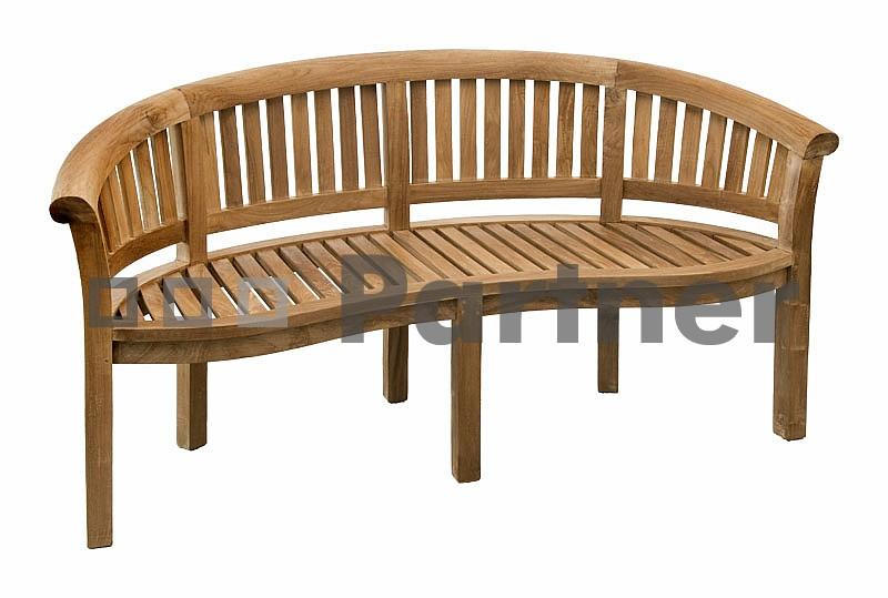 Záhradná lavička - Deokork - Omega (Teak)